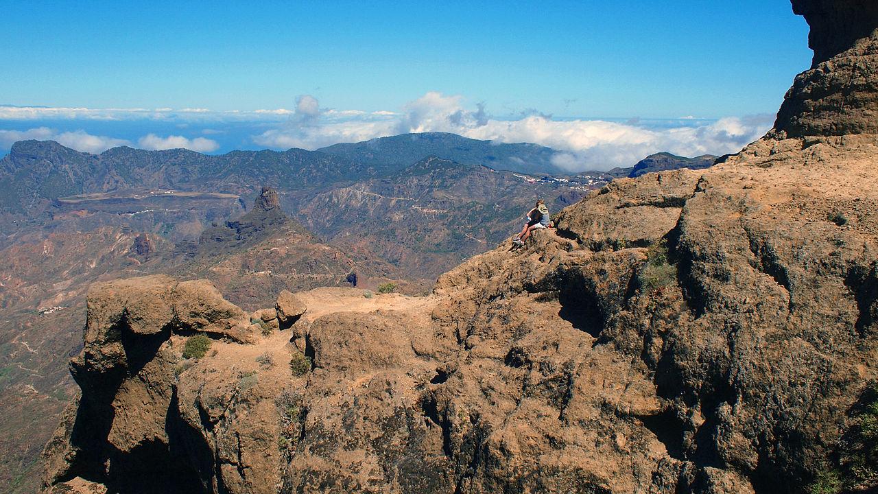 Vistas desde el Roque Nublo