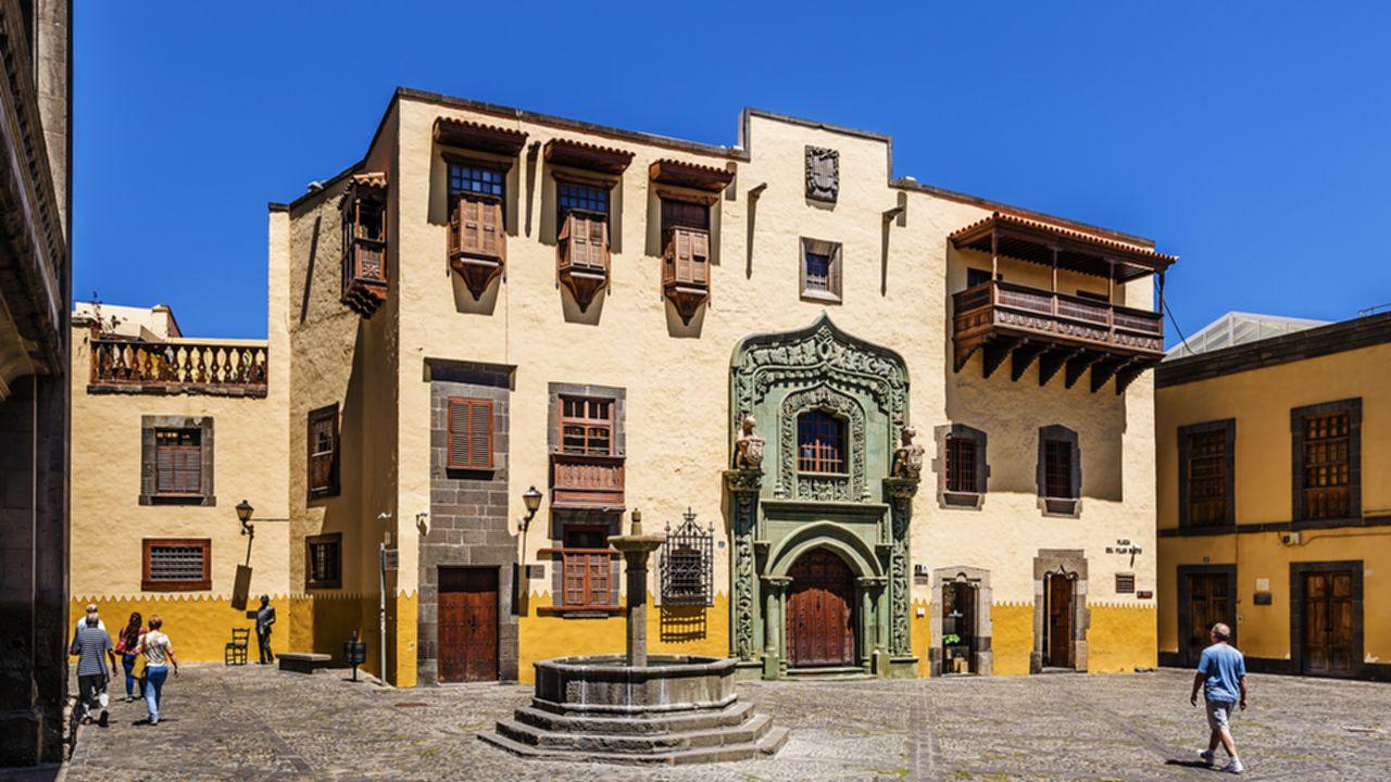 Casa de Colón, en Vegueta