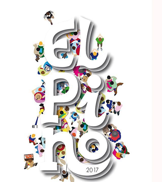 """Plakat der """"Fiestas del Pino 2017"""""""
