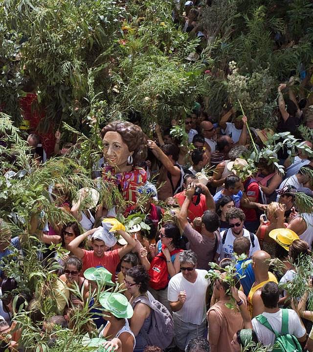 Fiesta de La Rama, en Agaete