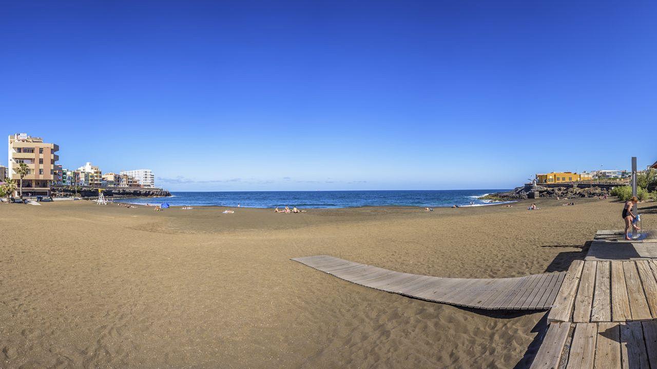 Playa de La Garita, en Telde