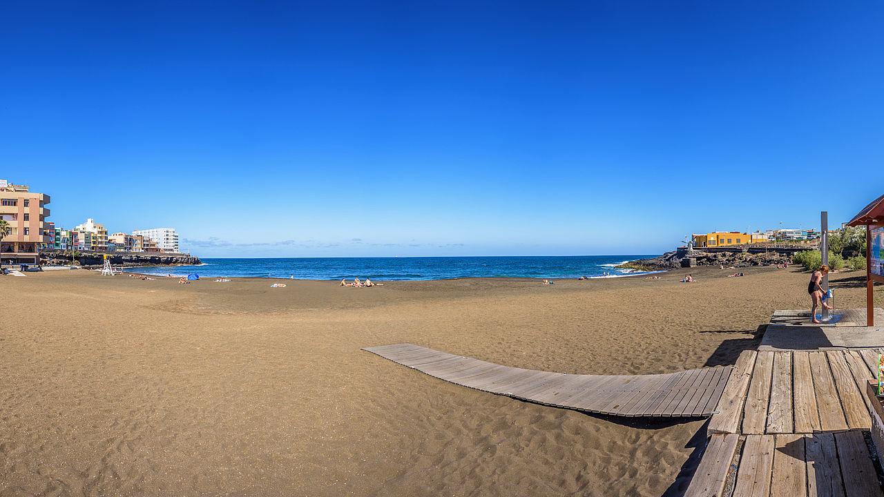 La Garita Beach, in Telde