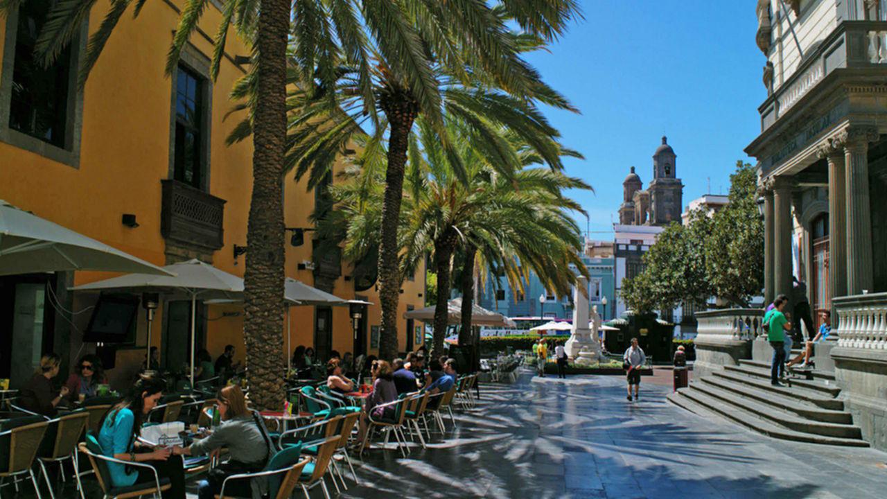 Plaza Hurtado de Mendoza, Las Palmas de Gran Canaria