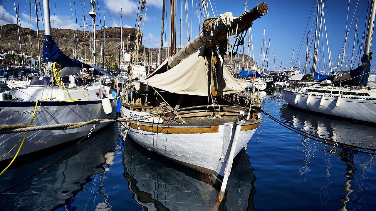 Puerto de Mogán, en Gran Canaria