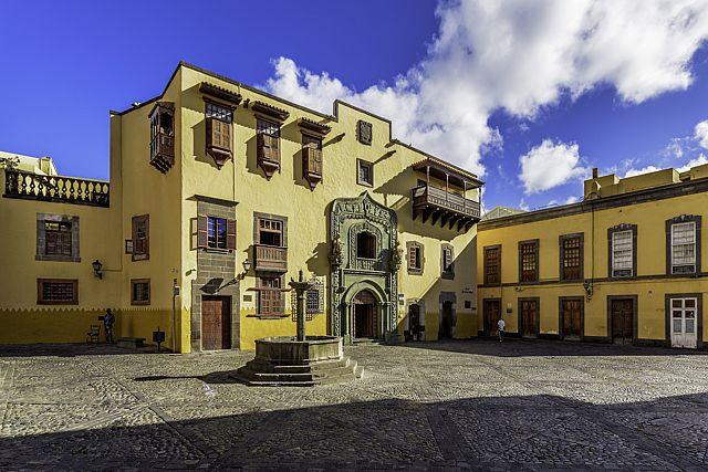 Vegueta en la ciudad de Las Palmas de Gran Canaria