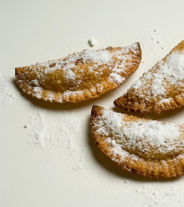 """Truchas de Batata o Cabello de Ángel"" (Yam Truchas)"