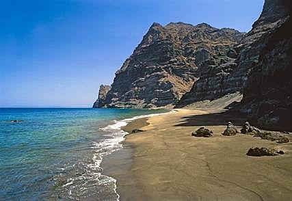 Güi Güi beach, La Aldea de San Nicolás, Gran Canaria