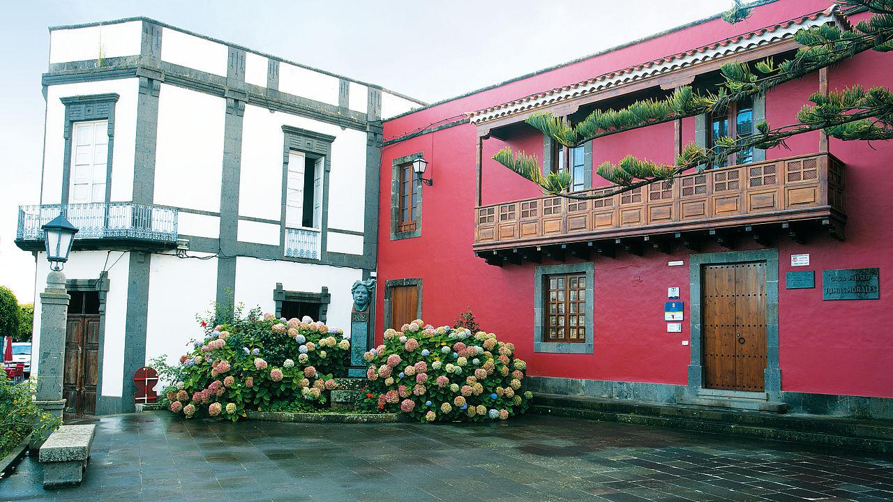 Casa Museo Tomás Morales en Moya