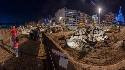 Belén de Arena, Playa de Las Canteras