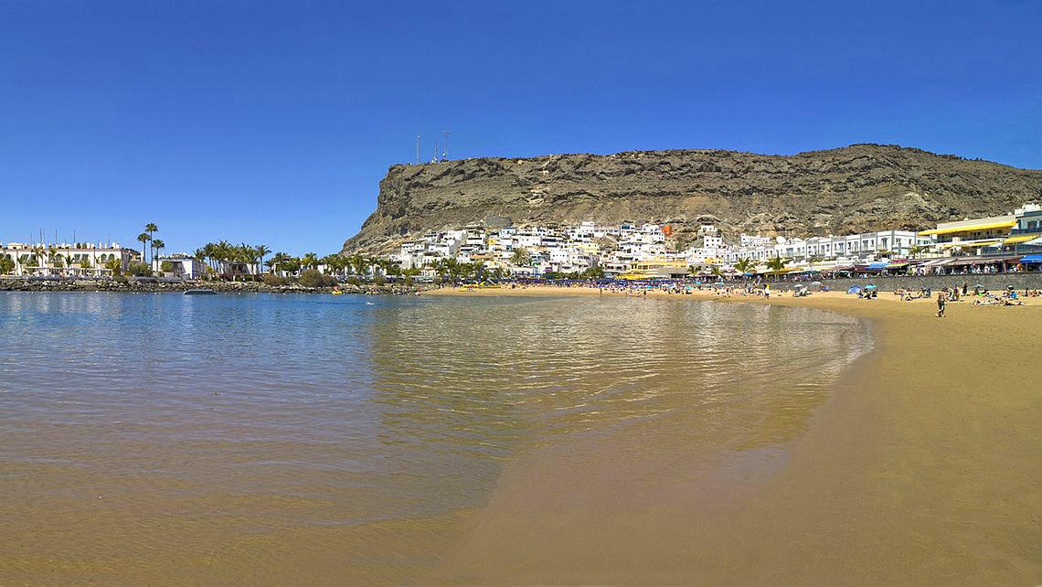 Playa de Mogán, en Gran Canaria