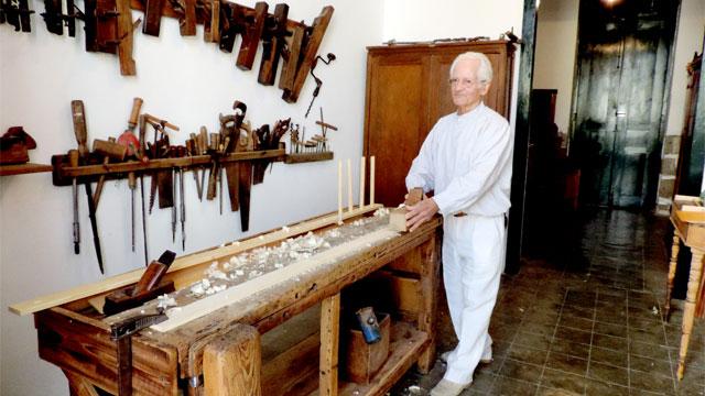 Museo vivo de antigua carpintería (Live Museum). Foto de Proyecto La Aldea