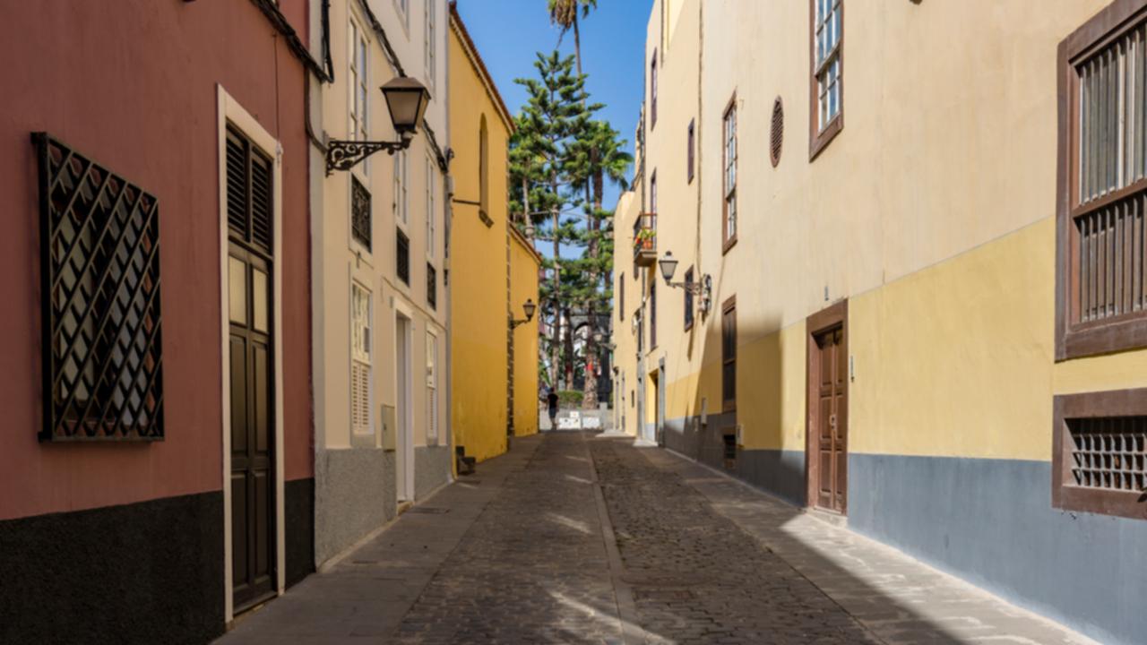 Calle en el barrio de Vegueta