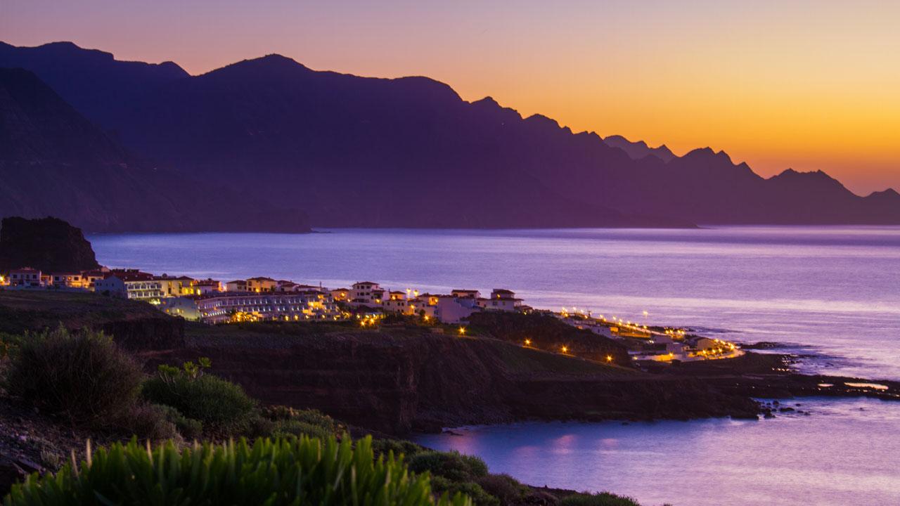 Agaete, en la isla de Gran Canaria