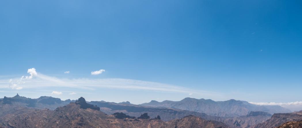 Vista desde Artenara