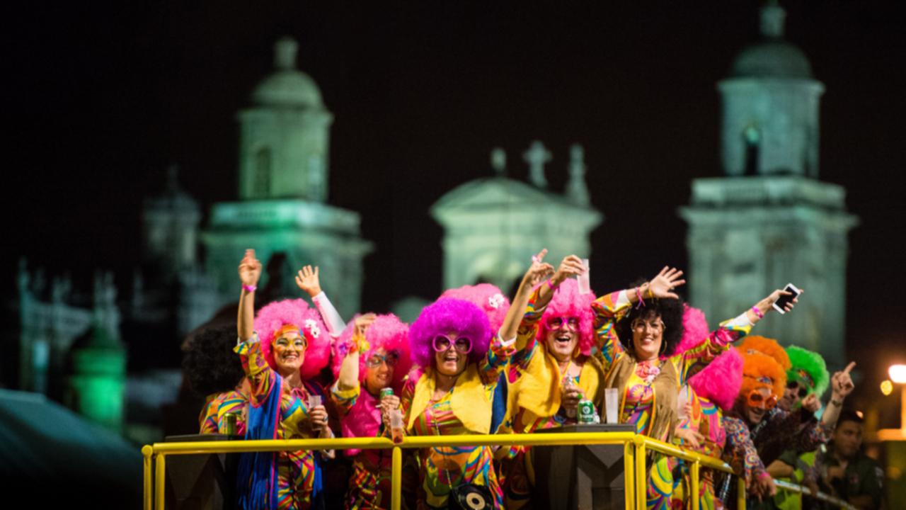 Carroza del Carnaval en Vegueta