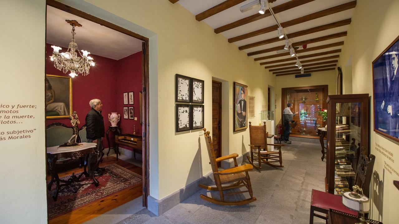 The Tomás Morales House Museum in Moya