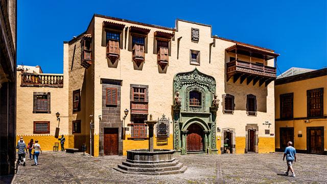 The Columbus House Museum in Vegueta, Las Palmas de Gran Canaria