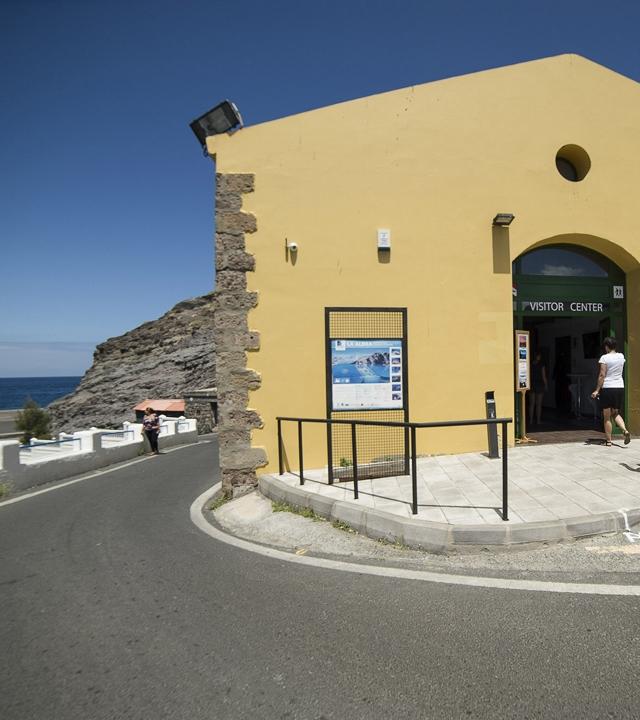 """Besucherzentrum des Mikro-Marineschutzgebiets """"El Roque"""""""
