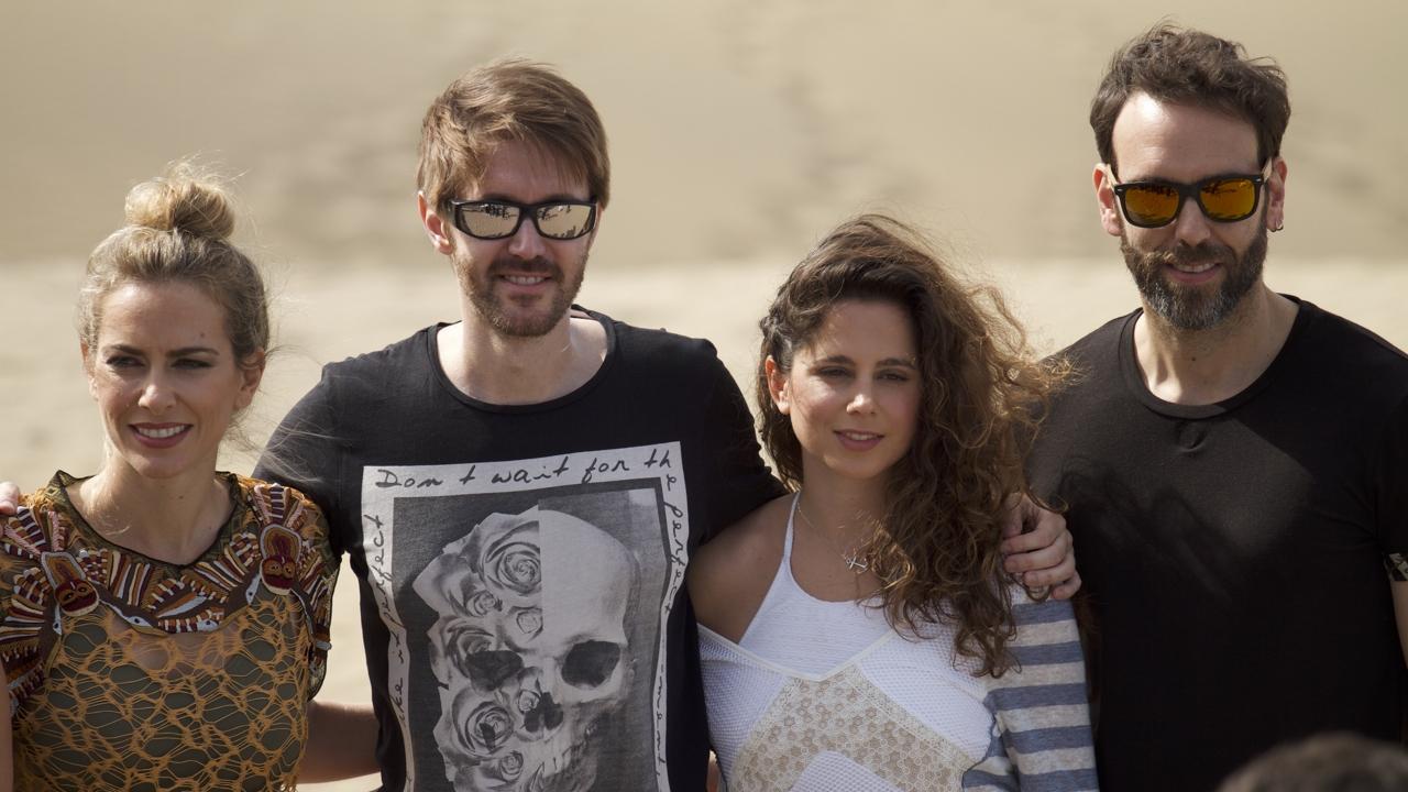 Kira Miró, Manuel Velasco, Leticia Etala y Ciro Miró