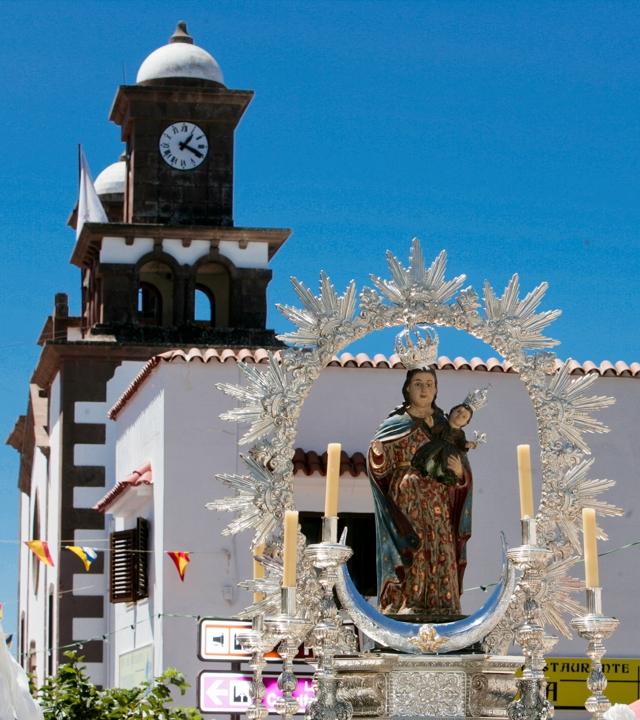 Das Fest der Virgen de la Cuevita von Artenara