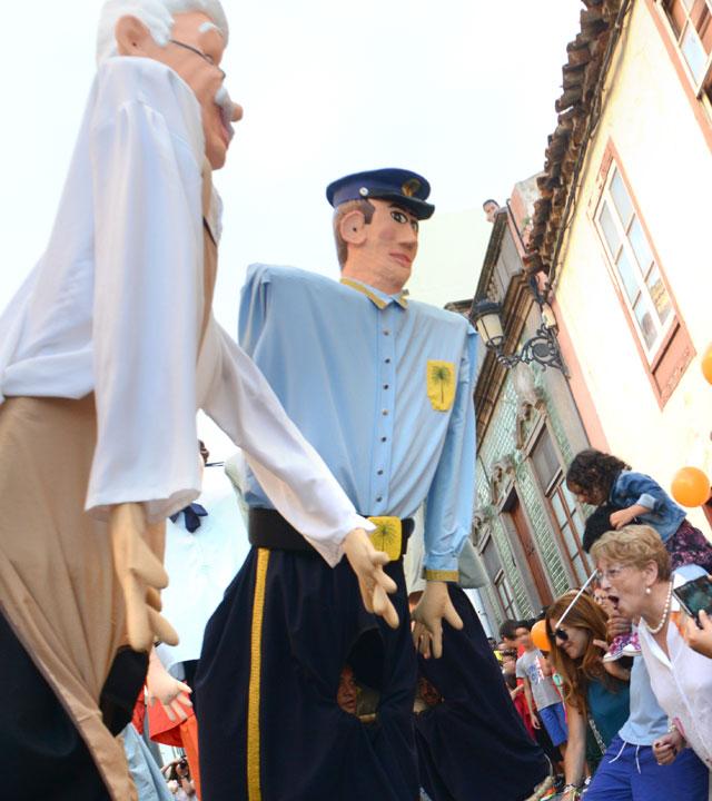 Celebración de las Fiestas de la Virgen en Santa María de Guía