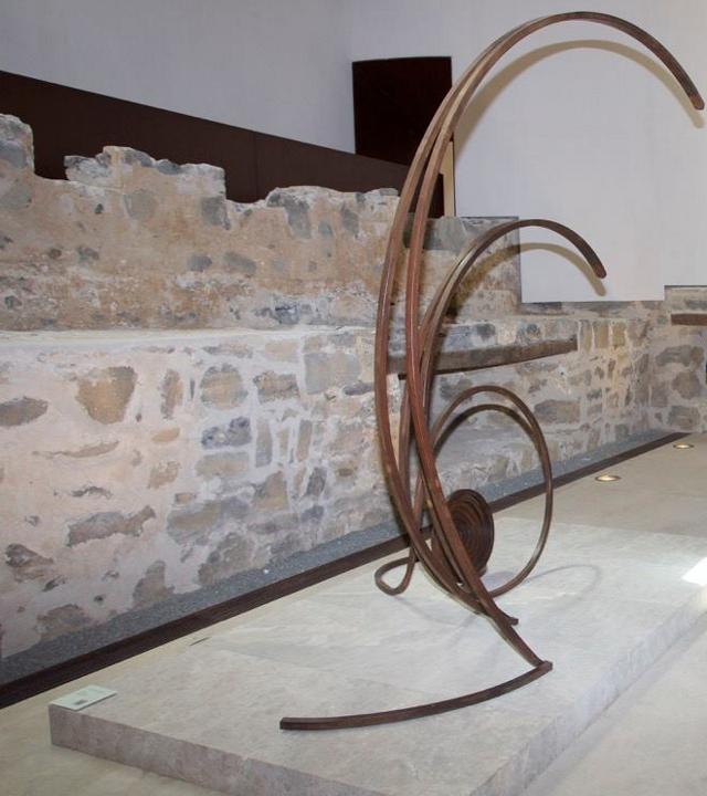 Escultura de Martín Chirino