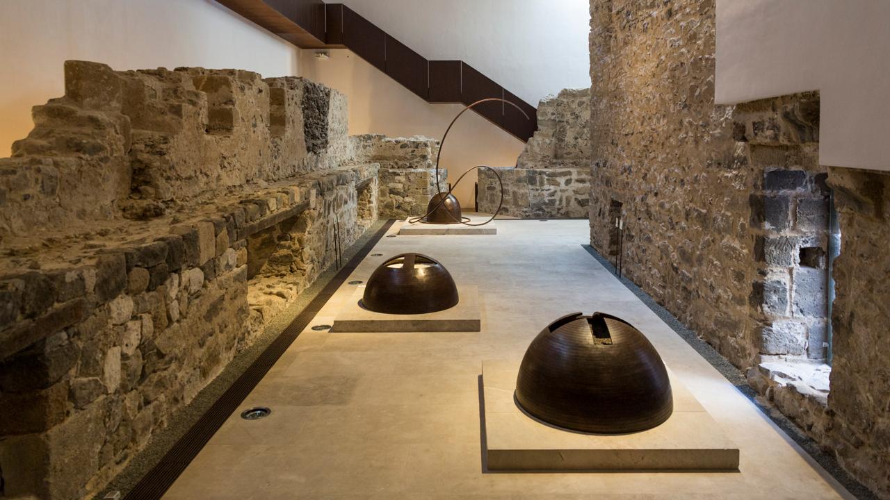 Interior de la Fundación de Arte y Pensamiento Martín Chirino