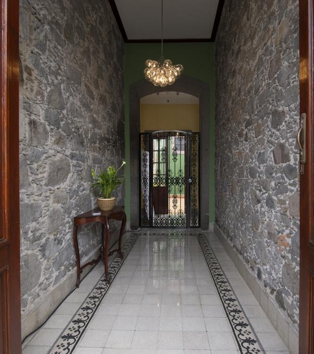 Eingang des Hotel Emblemático