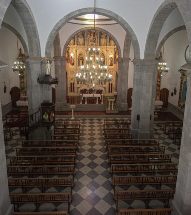 Interior de la Iglesia de San Vicente Ferrer