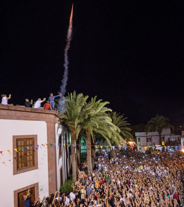 Fiesta de Las Nieves, Agaete