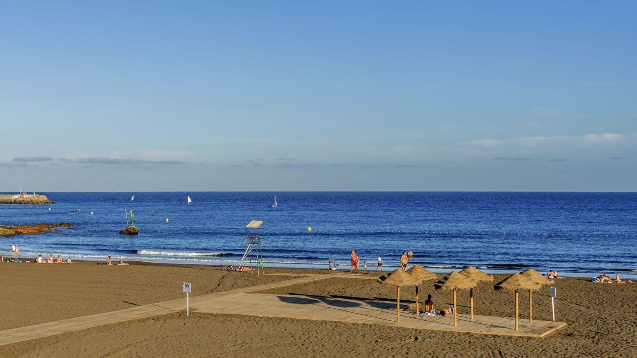 Melenara Beach in Telde