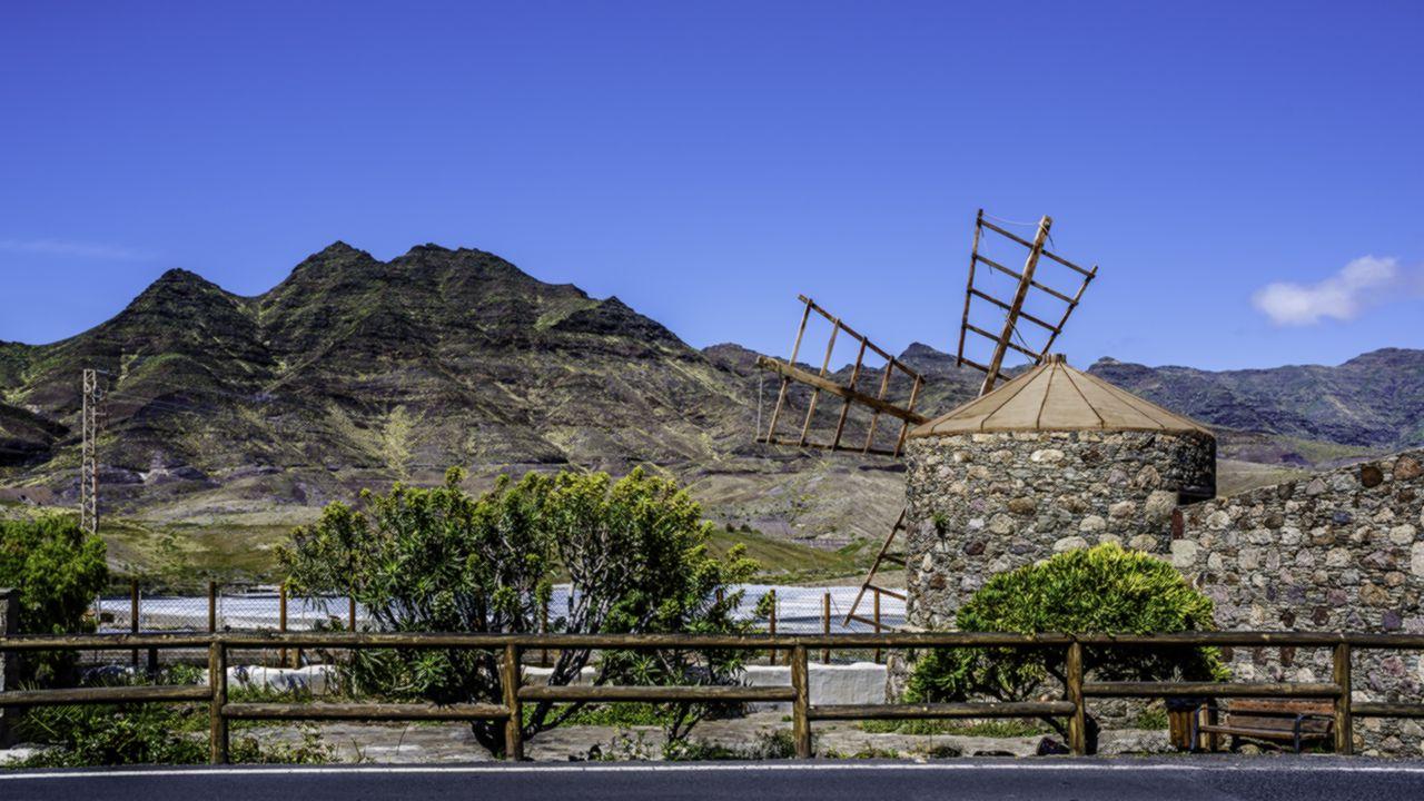Molino de Los Majanos. La Aldea de San Nicolás