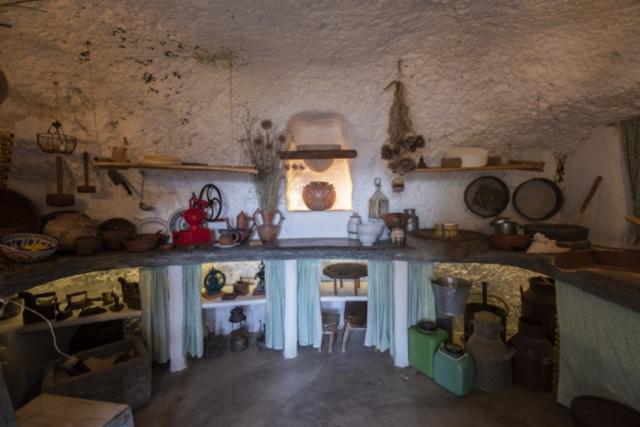 Ethnografisches Museum Casas Cuevas von Artenara