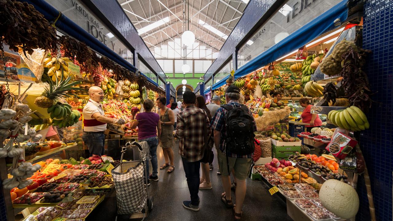 Interior del Mercado de Vegueta