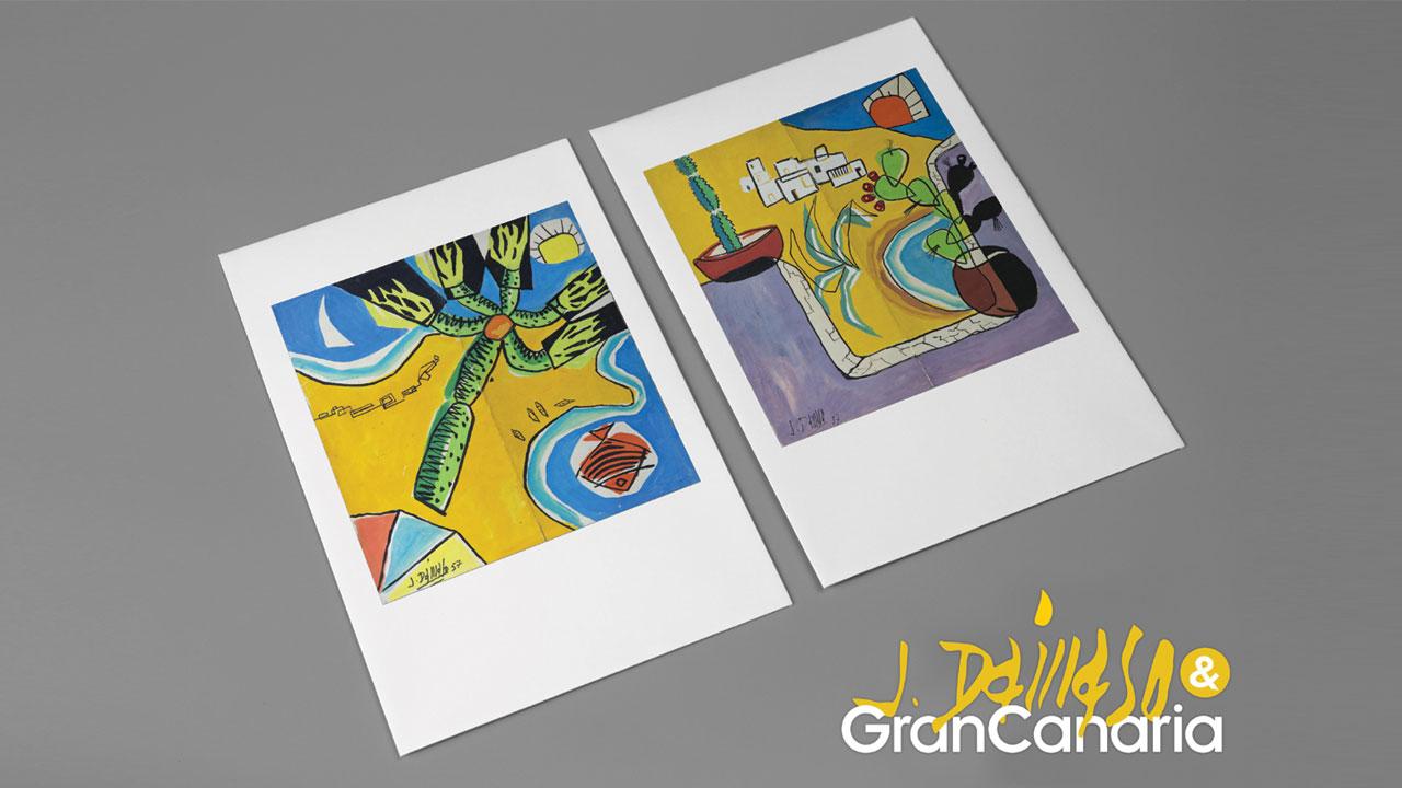 """""""Gran Canaria en los ojos de Pepe Dámaso"""" (""""Gran Canaria in den Augen von Pepe Dámaso"""")"""