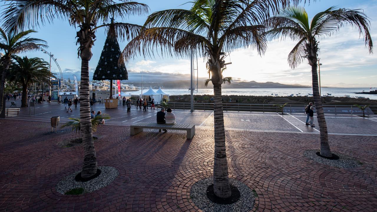 Plaza Saulo Torón, Playa de Las Canteras