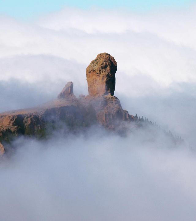 Roque Nublo en mar de nubes