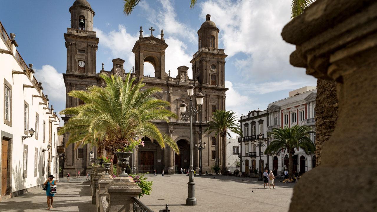 Catedral y Plaza de Santa Ana
