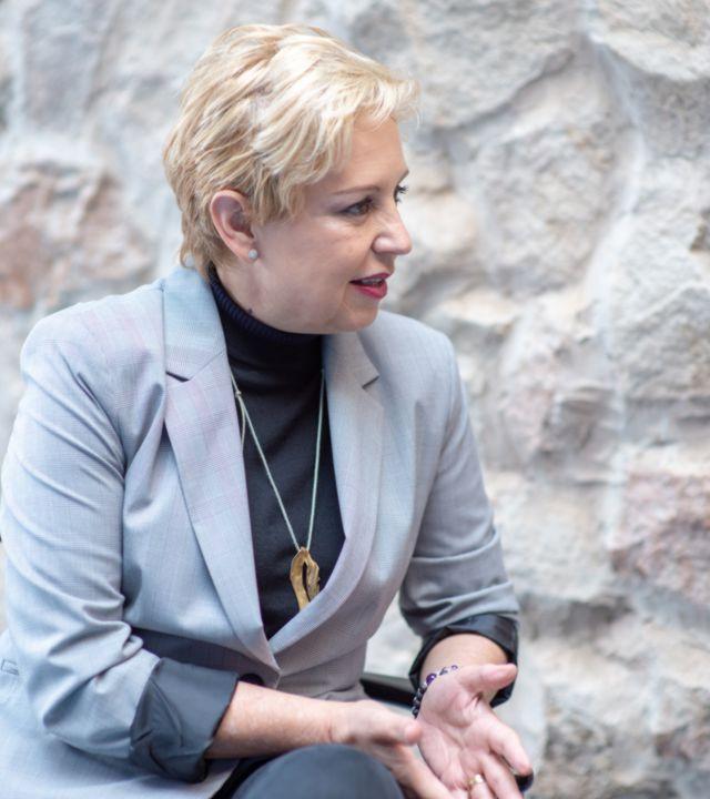Susi Dïaz, cocinera con Estrella Michelin. Foto: José Lorente