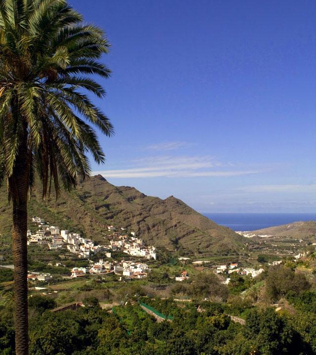 Valle de Agaete, en la isla de Gran Canaria