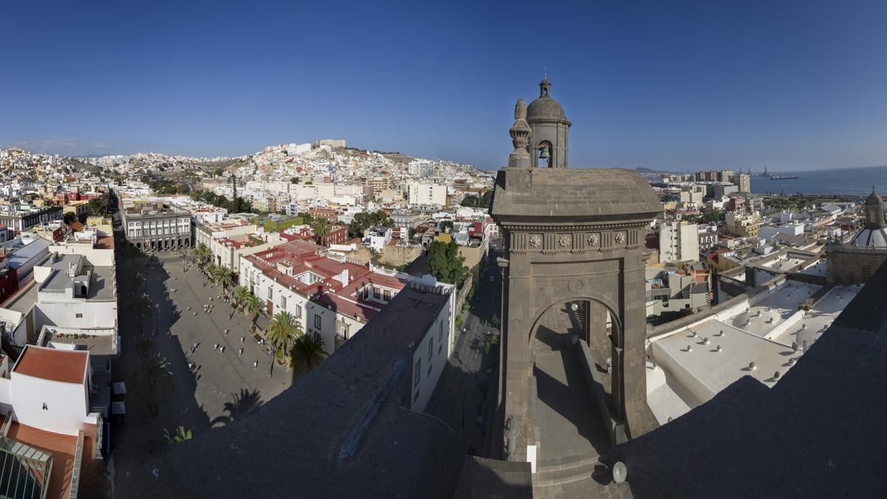 Vistas desde la Catedral, en Vegueta