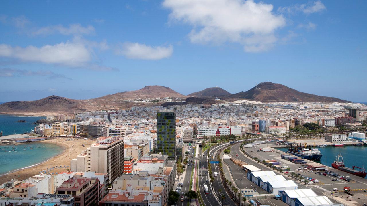 Zona Puerto - Canteras en Las Palmas de Gran Canaria