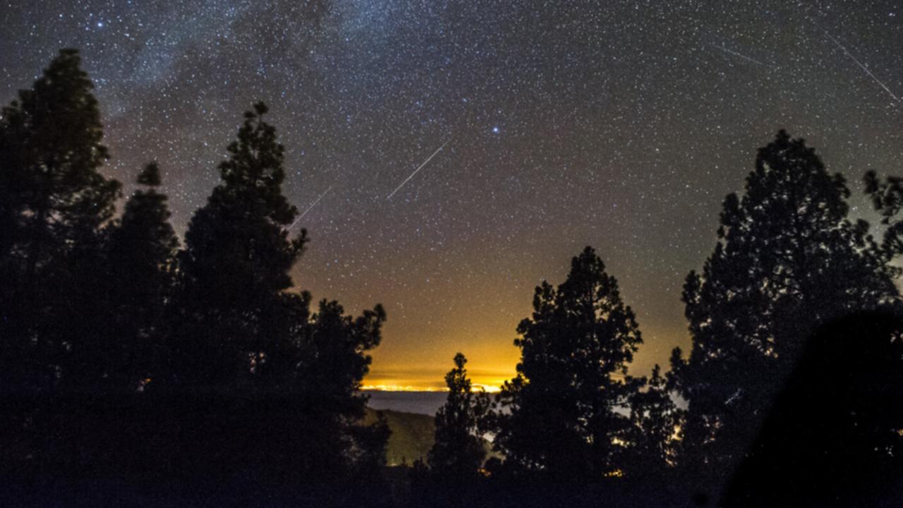 The starlit sky in Gran Canaria