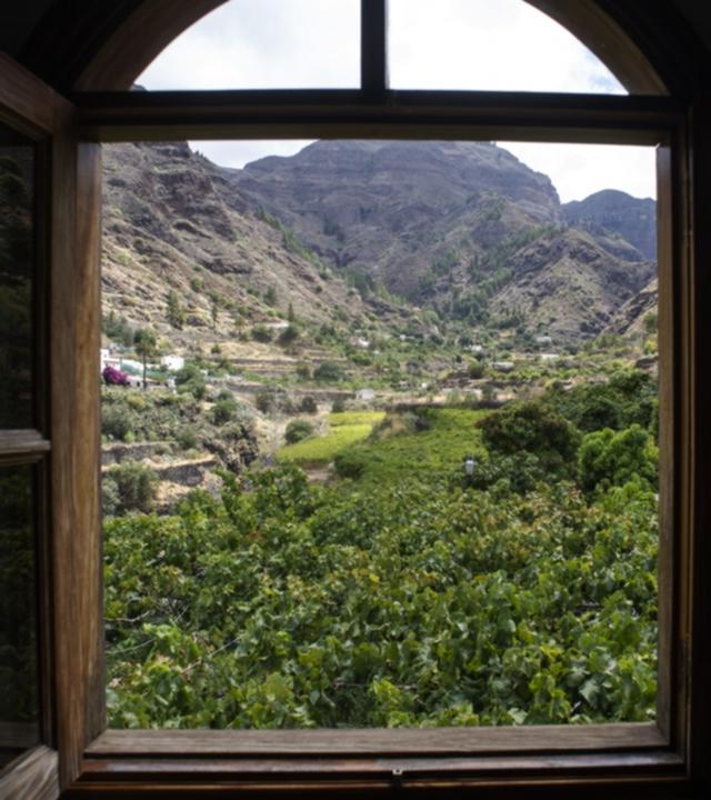 Vista del Valle de Agaete