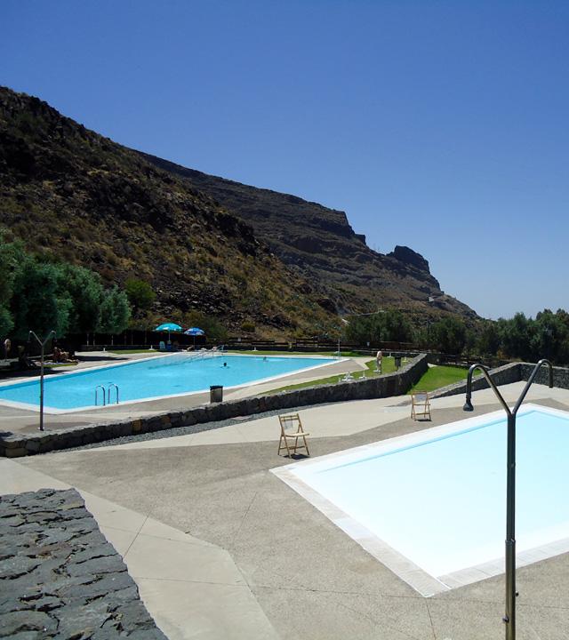 Piscina de Santa Lucía, en Gran Canaria
