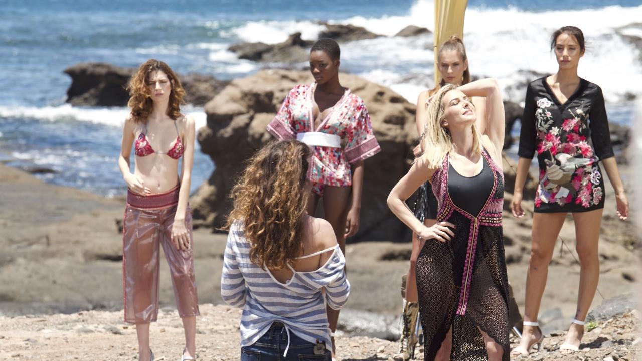 Escena del cortometraje de Fashionlins, en El Confital
