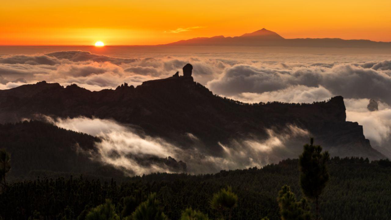 Vistas desde el mirador del Pico de los Pozos de las Nieves