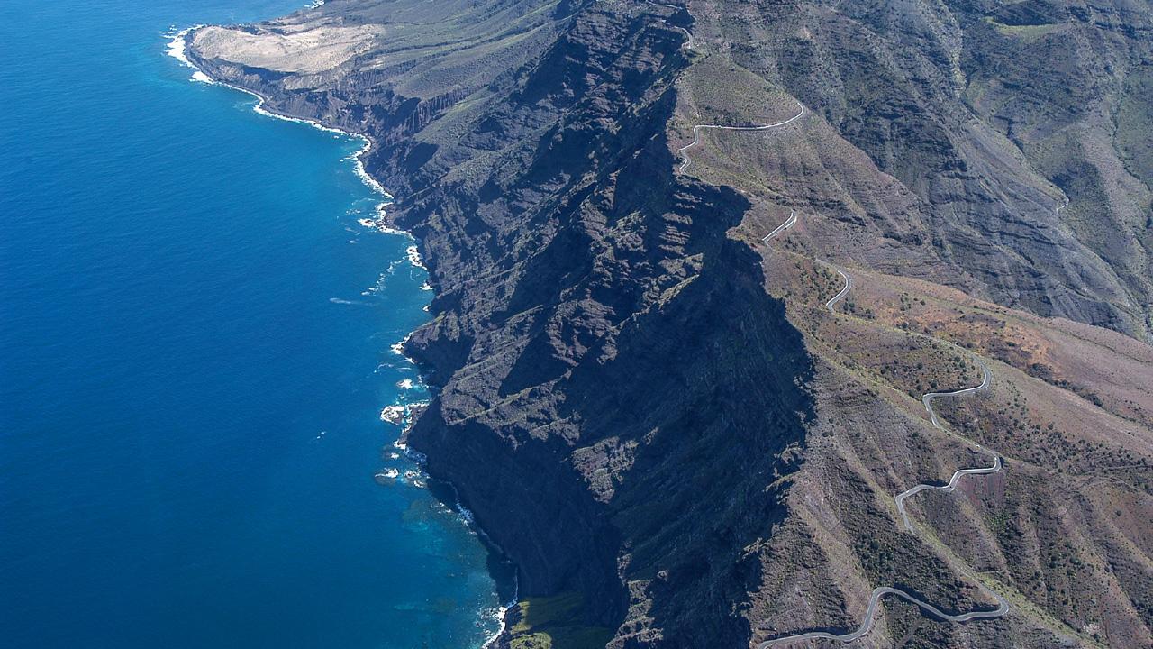 The North coast in Gran Canaria