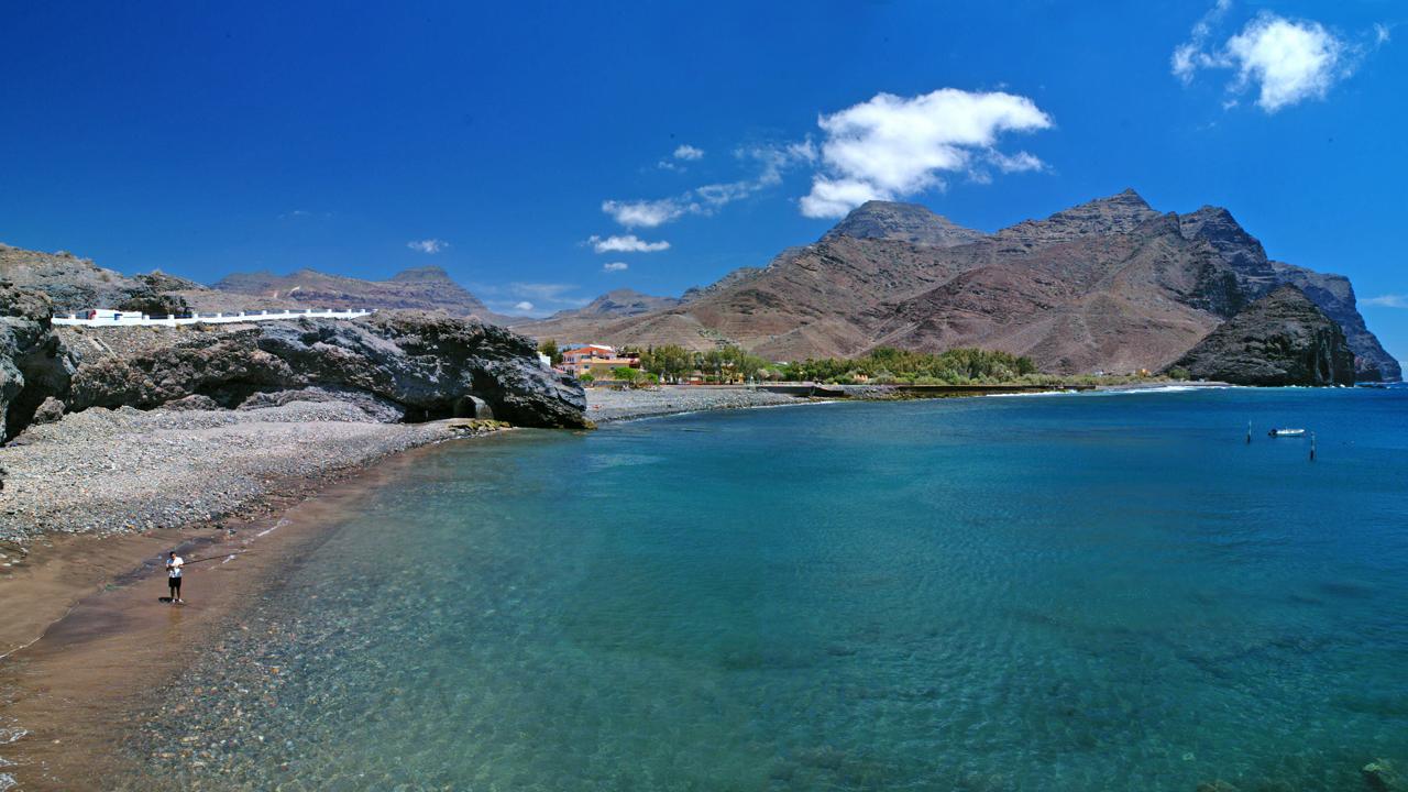 Playa de La Aldea, en Gran Canaria