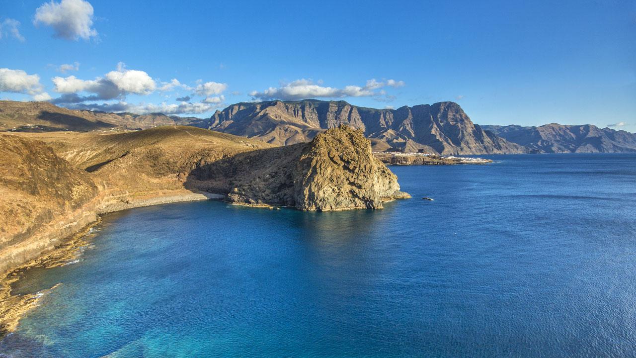 Barranco El Juncal, Agaete, en la isla de Gran Canaria